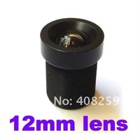 "1/3"" CCD 12mm 30 Degrees Angle IR Board CCTV Lens F2.0 aperture for Security Camera"