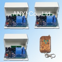 Wholesale 1 Channel Wirless Radio Remote Control Switch Voltage Power DC12V 3 Control Modes Free Shipping