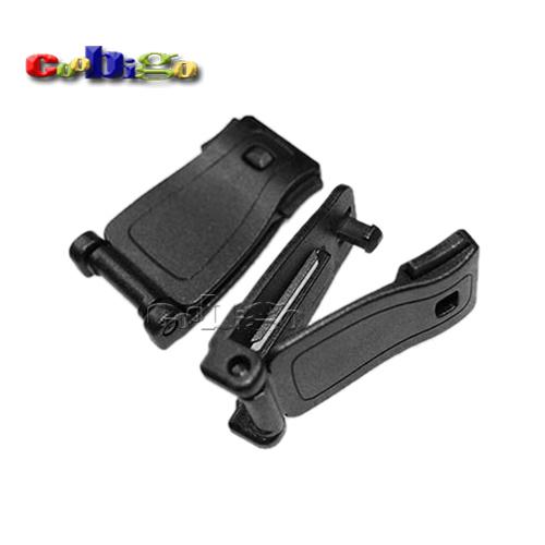 1000pcs/Pack Plastic Buckles Strap Clip Belt Keeper For Molle Bag Camp Hiking Webbing 29mm #FLC074-B(China (Mainland))