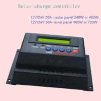 solar system charge controller 12V/24V 30A
