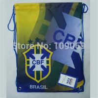 Free Shipping Brazil  football backpack / brasil fashion sports backpacks shoe bag    dropshipping