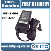 100%Original/Genuine Delta ADP-65JH DB 19V3.42A 5.5*1.7 laptop power adapter for Acer