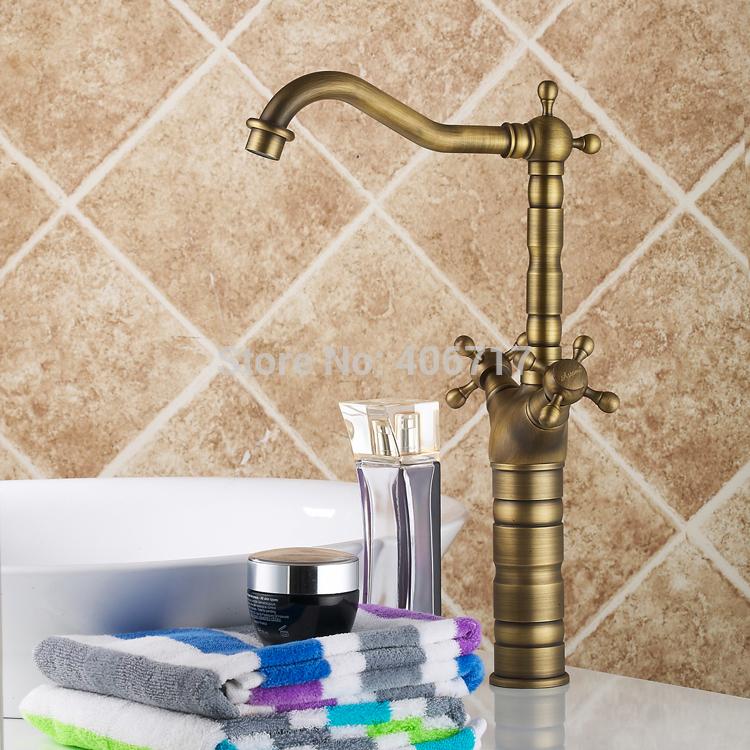 Griferia Para Baño Estilo Antiguo:Recién-llegado-de-altura-grifo-de-estilo-Vintage-de-baño-cuenca
