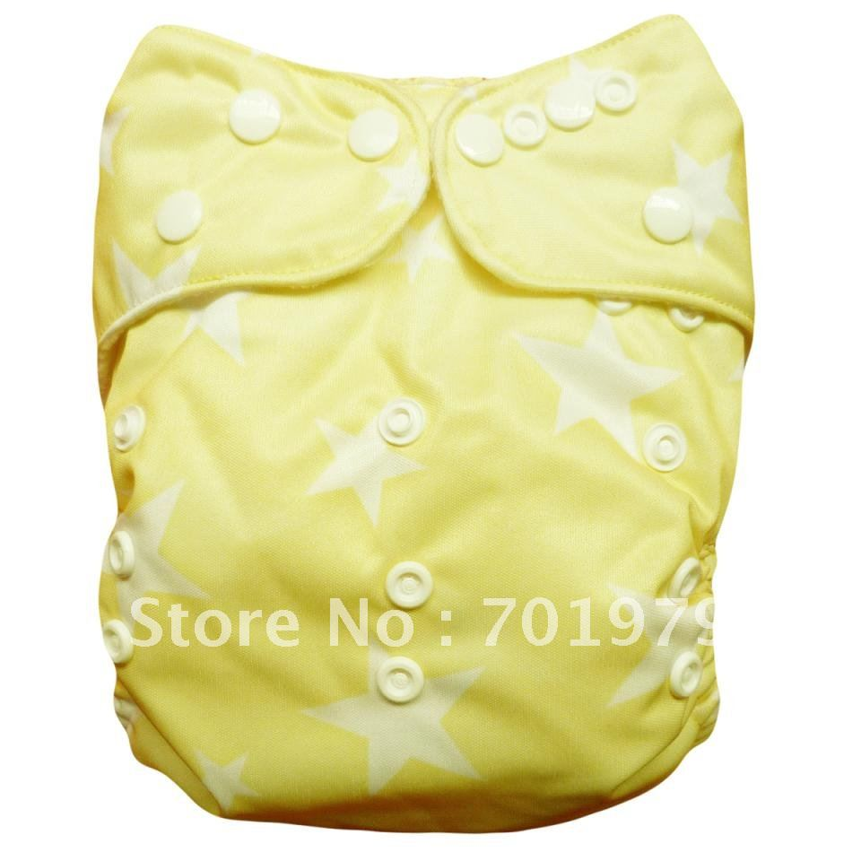 Alva pocket diaper baby cloth diaper reusable one size 50 pcs wholesale baby cloth diaper G11(China (Mainland))