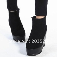Europe 2011 new wholesale women&amp;#39;s boots fashion boots with the slope