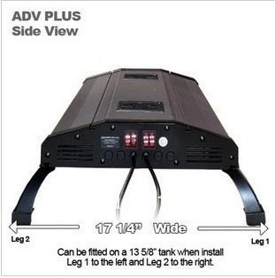 "ODYSSEA 60""(150cm) Aquarium Fish Tank Metal Halide/HQI Lighting +T5 Actinic Blue+Blueemoon LED, fit tank 150cm"