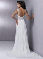 2011 New Arrival Freeshipping Best Selling Chiffon Wedding Dresses