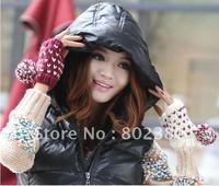 hot sale free shippping  fashion girl glove  winter girl gloves lovely girl cashmere gloves