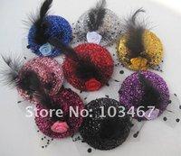 Free Shipping- 8 Colors 7cm Fashion Party Hat 24pcs/lot