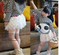 freeshipping new arrival tutu/cake skirt,girls mini skirts,Polka Dot,5pcs/lot
