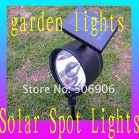 Solar Spot Garden led lights Outdoor solar spot garden lights Free shipping