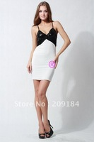 New arrival! Spaghetti Straps Dignity Slim Fit Sexy mini dress, Club wear dress + Free shipping WZC140