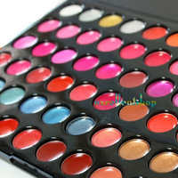 High Quality 66 Color Pro Lip Gloss Lipstick Cosmetic Makeup Palette