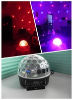 small led crystal ball