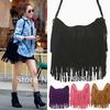 European&amp;American Style Star  Fashion Tassels Bags Hobo Clutch Purses Handbags women Shoulder Totes Women Bags B098 on Hot Sale