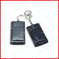 Free shipping solar keyring charger with MOQ 1pc