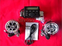 one pair goggles free+ New motorcycle audio system FM radio MP3 stereo speakers waterproof