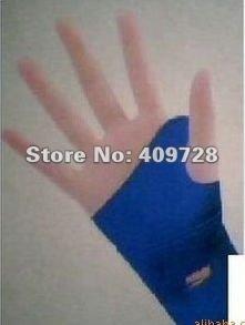 Tourmaline wrist brace