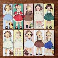 Free Shipping/Creative kawaii doll Bookmark set/30 sheets per set/Cartoon Book marks/