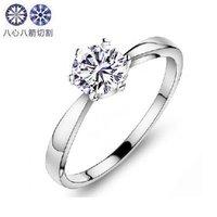 Free shiping!! SA0502,10pcs/lot, 925 silver inlay H&A zircon ring