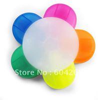 Free shipping Hotsale! 5 colors Highlight Pen Creativity Petals pen Fluorescent Pen Gift pen 36pcs/lot