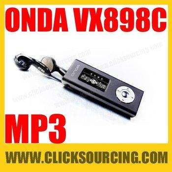 ONDA VX898C Color Screen Mini MP3 Players with FM Recording and A-B Repeat 4GB  Black  DROP SHIPPING
