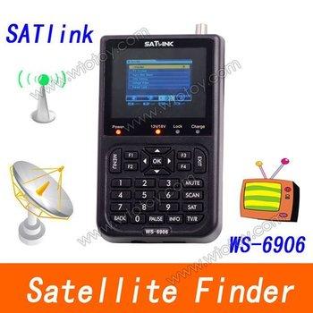 Free shipping Signal meter satellite meter finder satellite finder meter WS6906