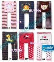 Free shipping wholesale 18pcs/lot lovely baby PP pants mix color baby leg warmer pants 0-3year