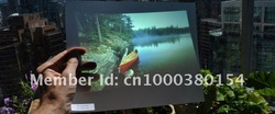 Free delivery cost Holographic Rear Projector film/foil/screen for advertising, event, Christmas advertising, exhibition(China (Mainland))