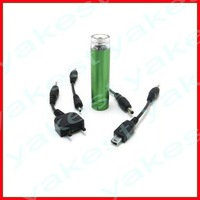 AA battery emergency charger for cellphone
