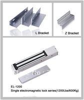 280KG (600Lbs) Single Electromagnetic lock with L Bracket and Z Bracket