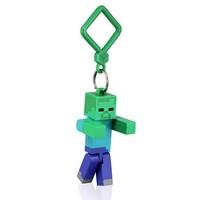 Minecraft Hangers Zombie 3 Inch Action Figure Keychain -M8