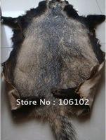 free shipping!Badger fur Badger hide badger skin good for clothes