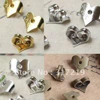 1000pcs 7mm earring plugs,earring finding,antique bronze Copper/brass earplugs accessories Free shipping