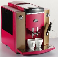 Auto Espresso Coffee Maker+4 colors for choosing+Visible operation system (LCD), 10 languages function+ Free Shipping.