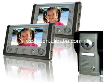 hot selling 7''colour video door phone intercom system