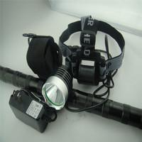 1800 Lumen CREE XM-L T6 LED Head Front Mount Bicycle Light bike Lamp HeadLight Flashlight Headlamp  6400mAh 8.4v battery Charger