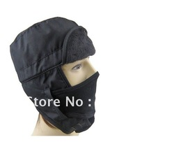 Free shipping 2010 winter Outdoor cap, warm couple hat protect ear against wind and snow hat(China (Mainland))