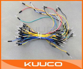 100 PCS/LOT 1 Bundles Solderless Bread Board Jumpwires Breadboard Jump Wires Jumper Wire # 090305