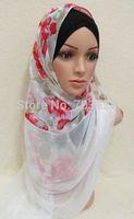 CV7754 Beaded Hijabs, Muslim Long Shawls, Islamic Lady Scarves , Islamic Head Cover Free Shipping, Accept Papel
