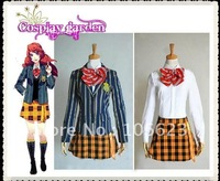 Wholesale Freeshipping Hot Selling Cheap Newest Halloween Cosplay Costume C4512 Uta no Prince-Sama Tomochika Shibuya