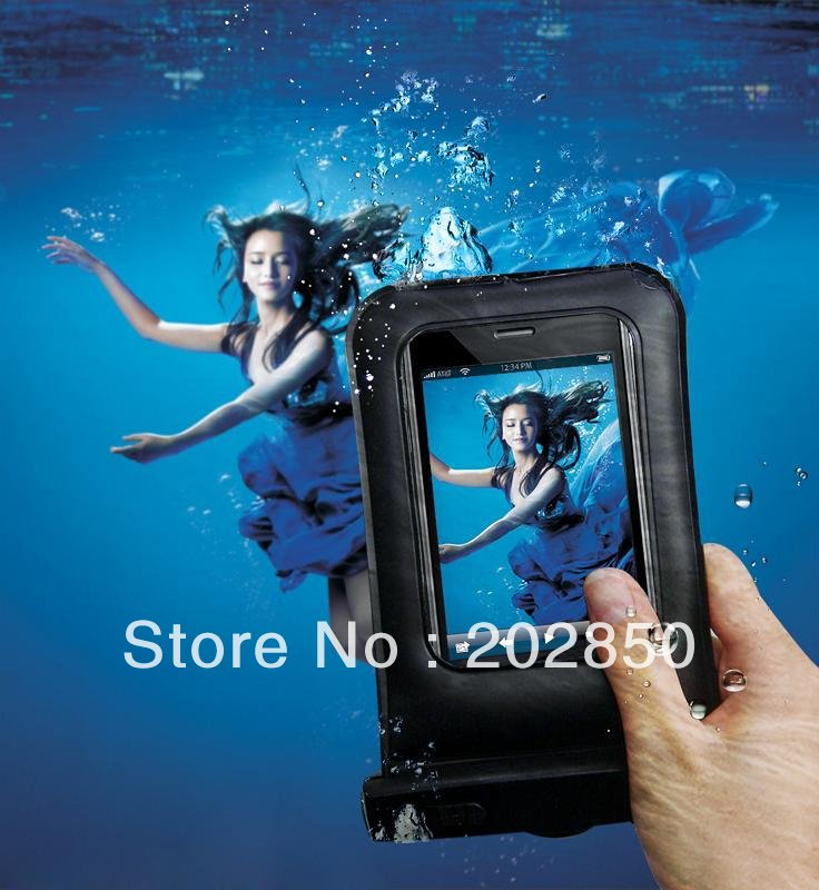 Free shipping High quality cellphone waterproof case,suitable for any phone,100%waterproof,quality warranty for retail&wholesale(China (Mainland))