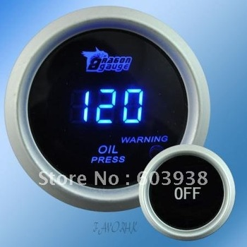 "2""  /52mm   Digital Wideband Oil pressure gauge/auto gauge/auto meter/car meter/auto parts"
