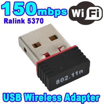 Mini 150M USB WiFi Wireless Network Card Networking LAN Adapter for Computer PC Laptop Mac Win XP/Vista/7/8 150Mbps 802.11n/g/b