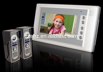 luxury 7'' intercom system ,door entry system