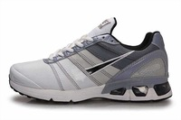 HOTsale 813  of leather face gray (36-44)running shoes lovers