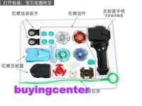 beyblade lots, Spin Top Toy,Clash Beyblade Metal Fusion,Battle Online,4 pcs +1 launch handle ,Freeshipping