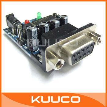5 PCS/LOT MAX232 RS232 COM Serial Port to TTL Converter Module Board  # 090012