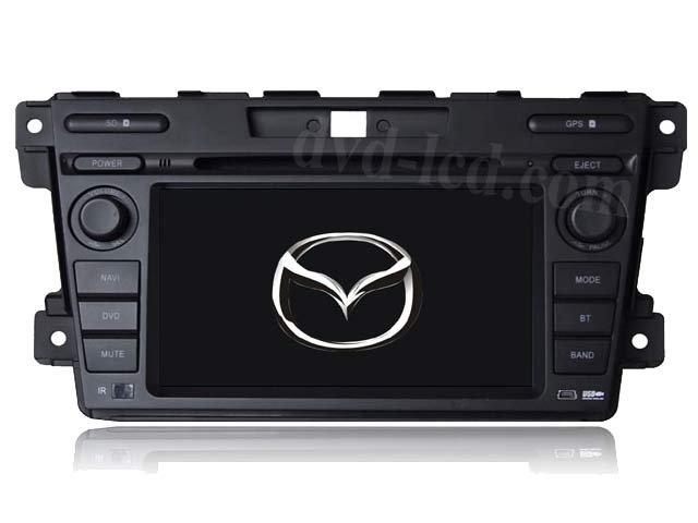 wholesalemazda CX7 CX-7 car dvd player GPS navigation system Bluetooth Ipod HD LCD Win CE6.0 Head units(China (Mainland))