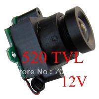 Free shipping, 520TVL CCTV Camera (0.008Lux,10~120 degree view angle) MC495A-12--with audio